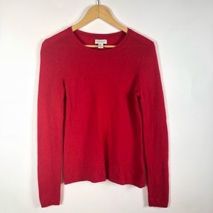 Adrienne Vittadini 100% cashmere sweater medium